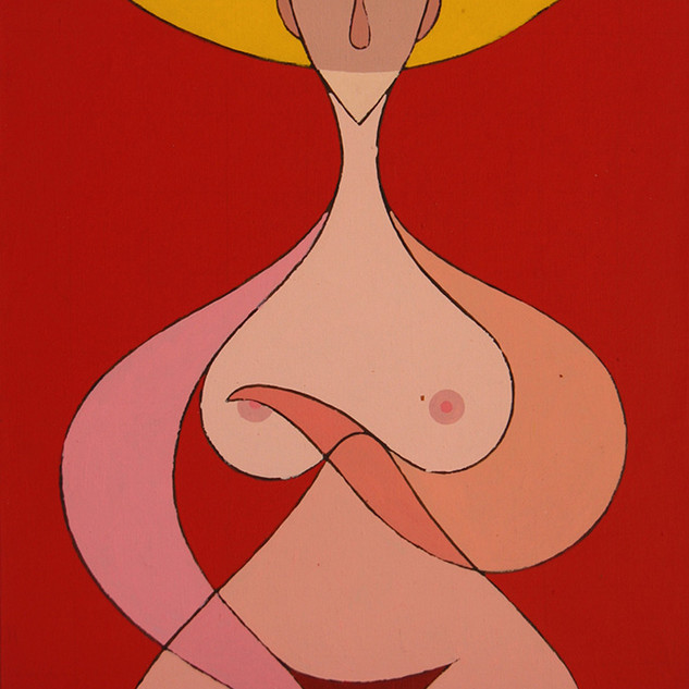 Kenneth B Walsh Nude In Red.jpg