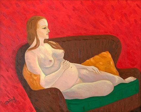 Elena Dobrovolskaya:  Feeling of Maternity