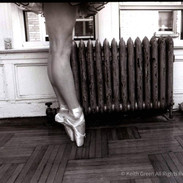 Keith Green Ballerina Bohemia 16x20 Silv