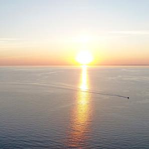 Paul Dempsey - Sunset Sail - 20x40 - $12