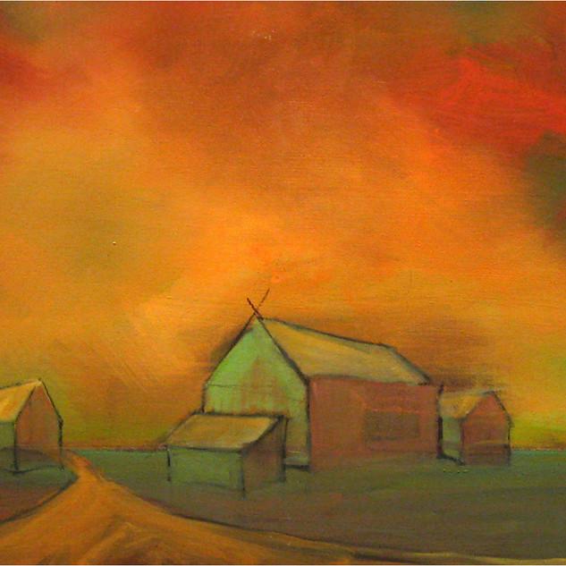 Stephanie Reit, Vanishing Point, 16x20,