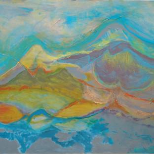 Beth Bsrry_Swaying Peaks_ 36x48__$3800.j