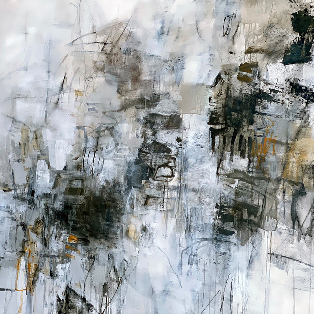 Julie Schumer Connectedness, 47 X 59, mi