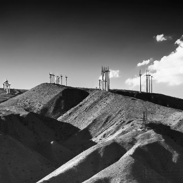 jim Mannix Kranion Windmills  30 X 17.5.