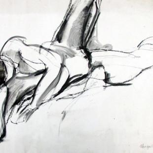 Marilyn Church Reclining Figure 18 x 24