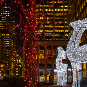 BetsyPinoverSchiff, NYC Reindeer, 12x17_