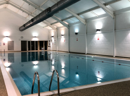 Swimming Pool and Gym opening times at the Bay Filey