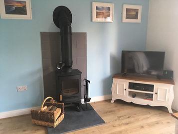 Log Burner at Kittiwake Cottage Filey 00016.