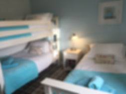 Twin Room at 17 Trinity Way Kittiwake Cottage on the Bay resort Filey