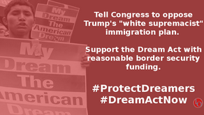 Reject Trump's Immigration Proposal & #ProtectDreamers