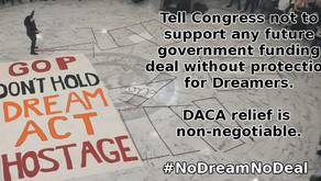 Call Congress about #DACA relief