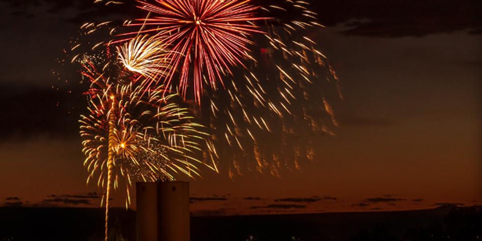 Fireworks at Confluence Park
