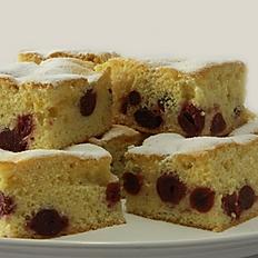 Sour-Cherry Sponge Cake