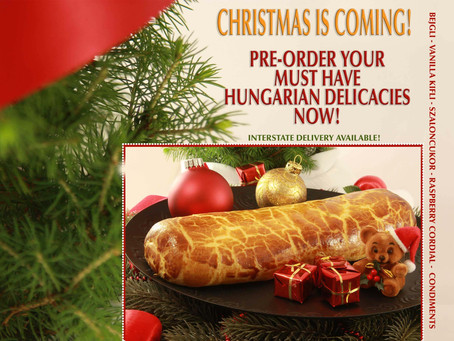 Pre-Order your Christmas Bejglis Now!