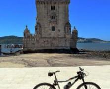 Lisboa com sua bicicleta