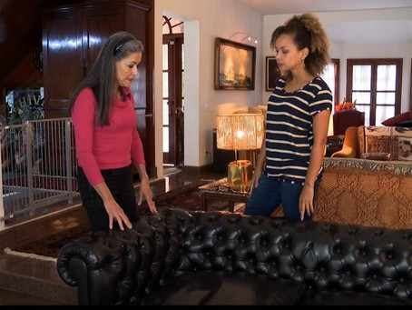 Como limpar os sofás e preparar a casa para o Natal? Maria Eugenia ensina…