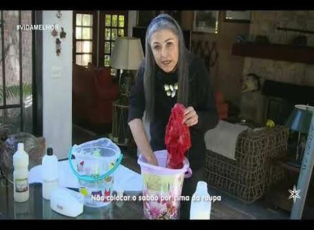 Como lavar as malhas
