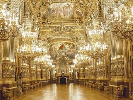 Pelos bastidores do Opera Garnier