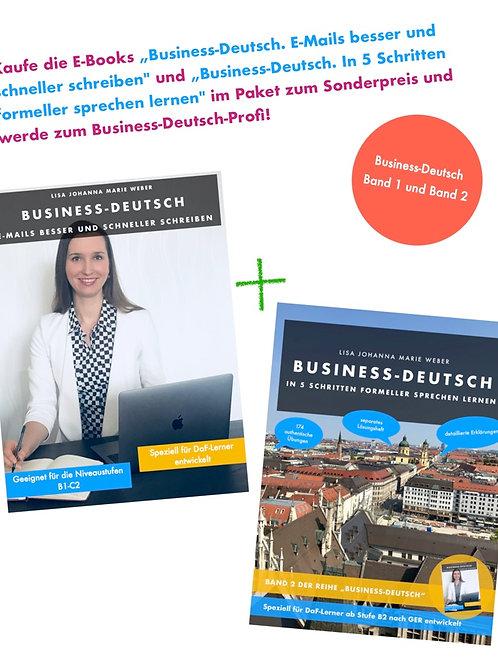 SILBER-PAKET: Business-Deutsch 1 und 2