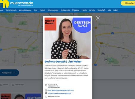 München hält zamm! - Business-Deutsch im offiziellen Stadtportal muenchen.de