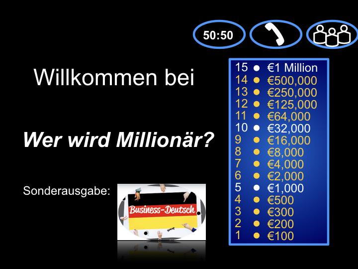 Teste dein Business-Deutsch!