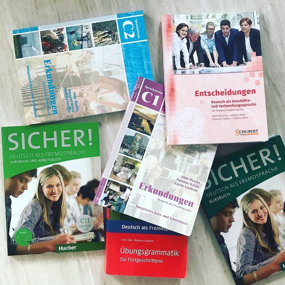 Lehrwerke für Deutsch (DaF) C1 und C2
