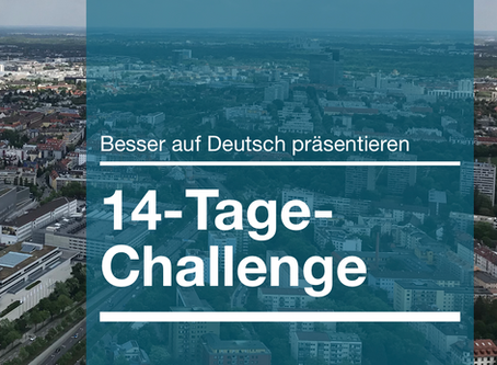 14-Tage-Challenge: Bessere Präsentationen auf Deutsch halten