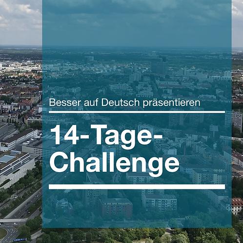 14-Tage-Challenge: Besser auf Deutsch präsentieren