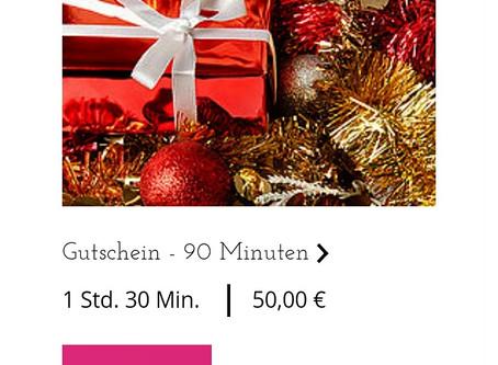 GUTSCHEIN FÜR INDIVIDUELLES DEUTSCHTRAINING | Noch kein Weihnachtsgeschenk?