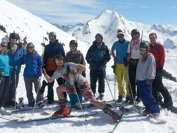 Skiing into spring at Portes du Soleil