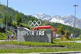 Sestriere Italian Alps