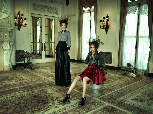 Sienna Li High Fashion Campaign