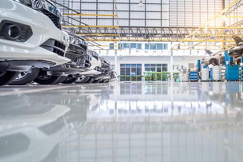 interior car-care center. The electric l