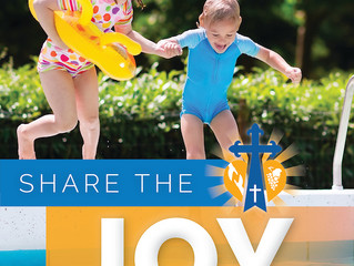 From the Pastor's Pen: SHARE THE JOY—IMMERSED IN GOD'S LOVE