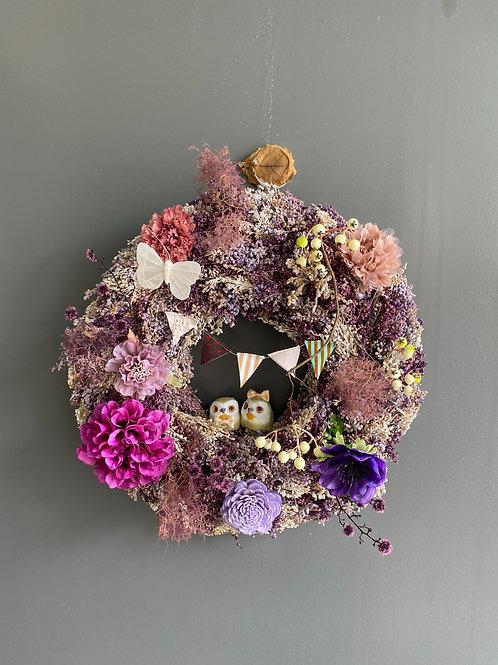 Wreath dessert LAVENDER