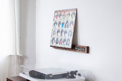 Record Display Shelf
