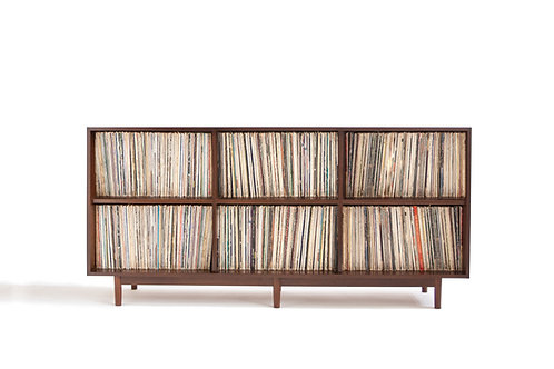 Cabinet for large record collections - cubby system - ikea record cubes
