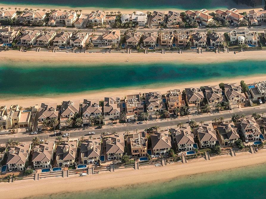Palm Dubai Airial Photography by Brigitte Kraus