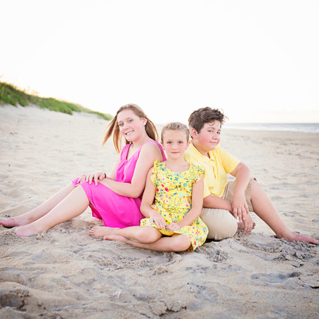 Harlin Family Beach Portraits