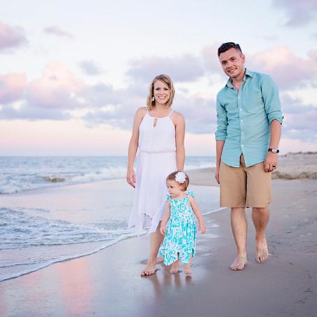 Miller Family Beach Portraits