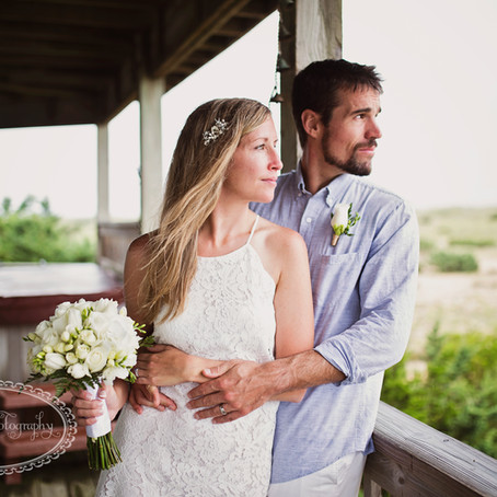 Outer Banks Weddings - Mr and Mrs Ferreria