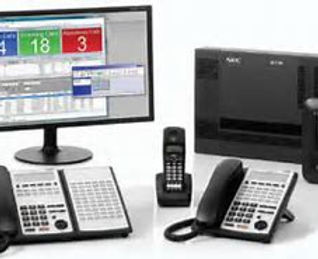 Phone system and monitors
