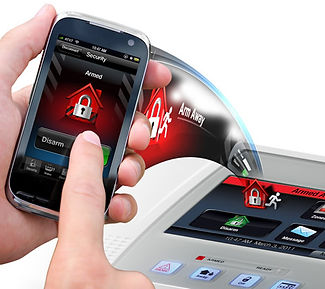 security alarm app on phone