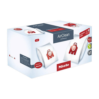 Miele FJM AirClean 3D Efficiency Performance Pack 16 Bags + HEPA Filter