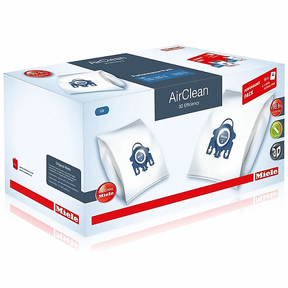 Miele GN AirClean 3D Efficiency Performance Pack 16 Bags + HEPA Filter