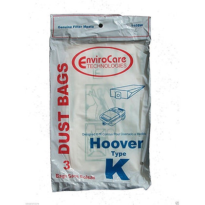 Hoover Style K Bags 3pk