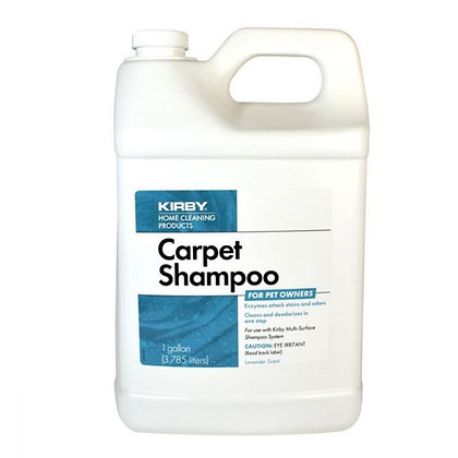Kirby Carpet Shampoo for pet owners 1 gallon