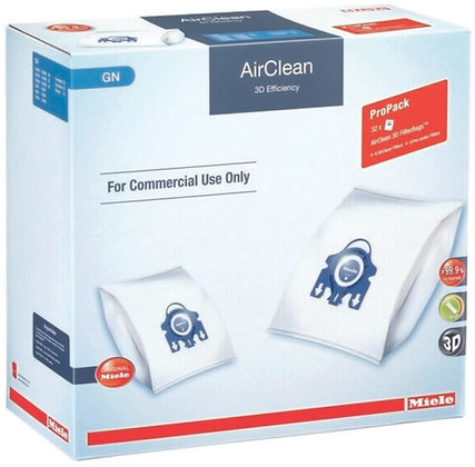 Miele GN AirClean 3D Efficiency Performance Pack 32 Bags