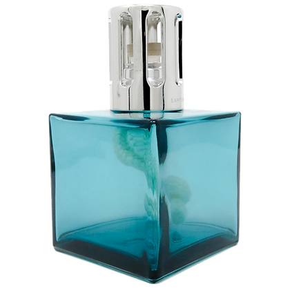 Lampe Cube- Turquoise