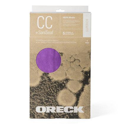 Oreck CC 6pk Superior Filtration